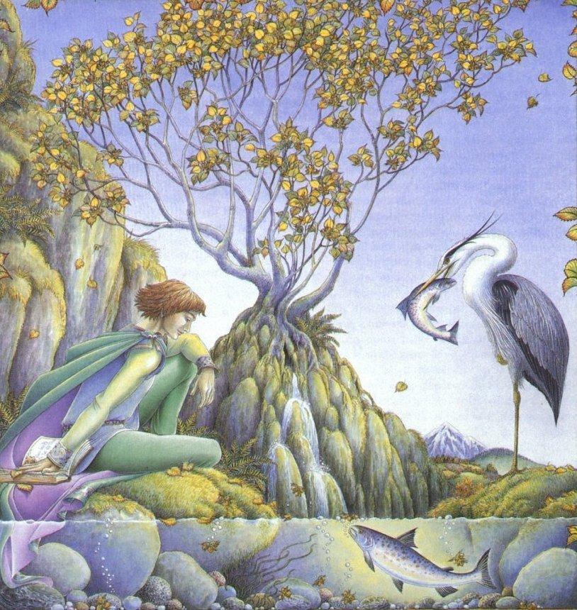 Дерево свежей росы или поющее дерево